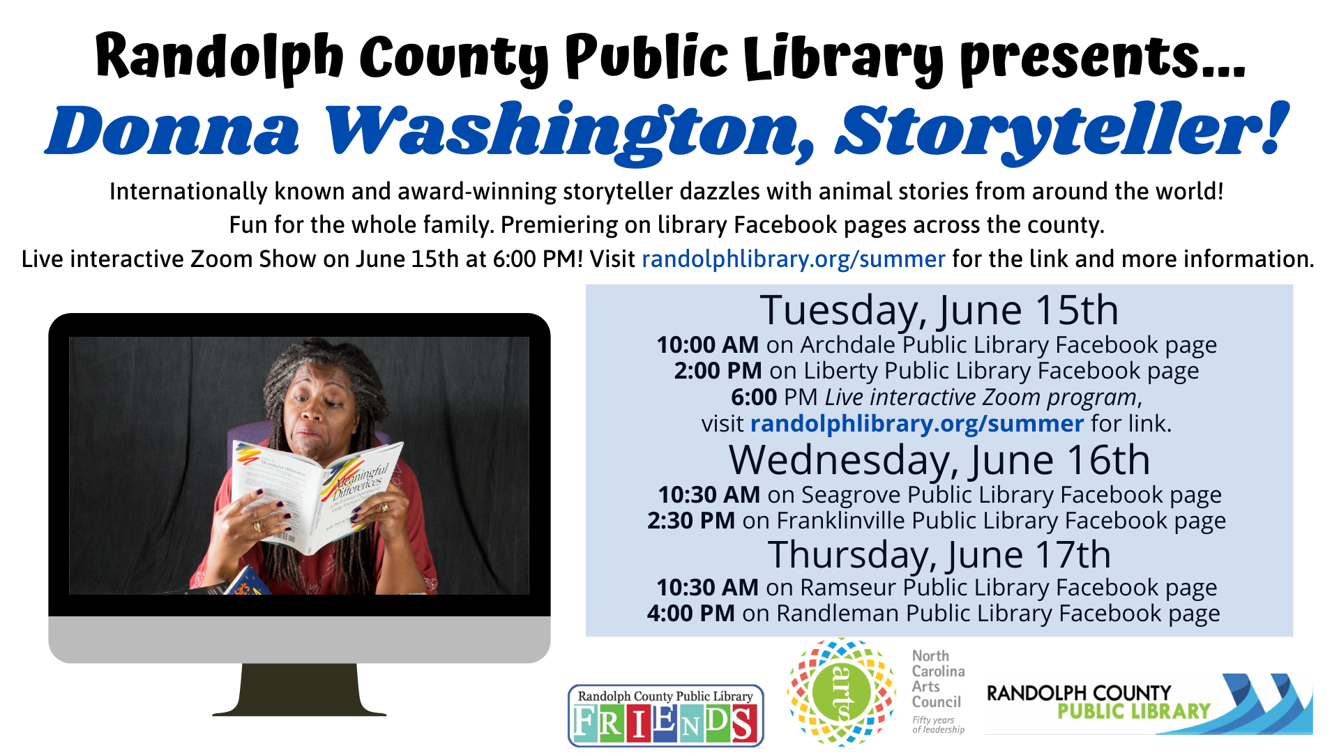 An event at the Asheboro Public Library! FREE
