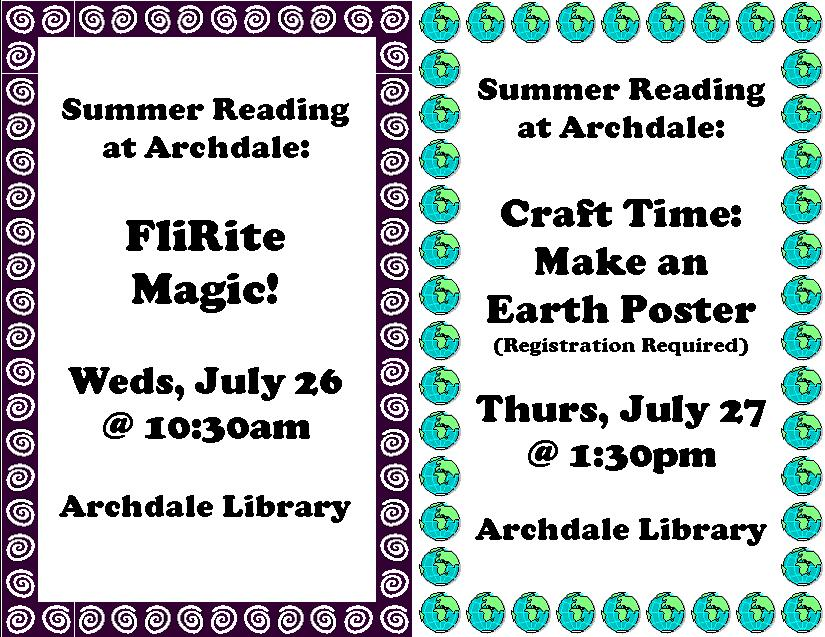 FliRite Magic and Craft Time in Archdale!