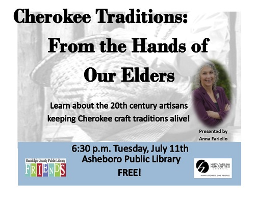 Learn about the 20th century artisans keeping the Cherokee craft traditions alive!
