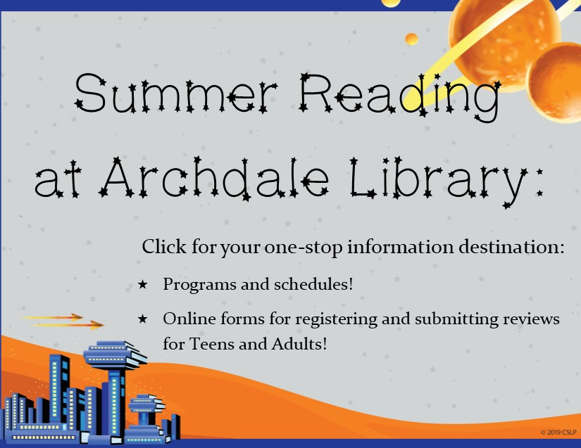 Summer Events at Archdale! FREE